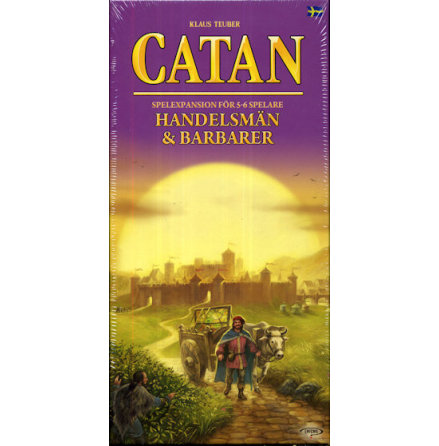 Catan 5th ed Handelsmän & Barbarer 5-6 (FI-SE)