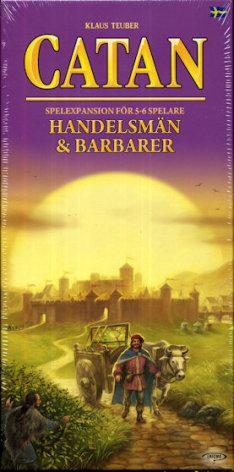 Catan 5th ed Handelsmän & Barbarer 5-6 (FI-SE)