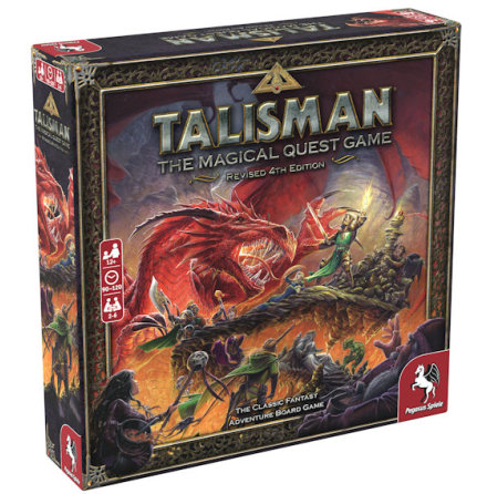 Talisman: Revised 4th Ed Core Game (Nytryck väntat i September)