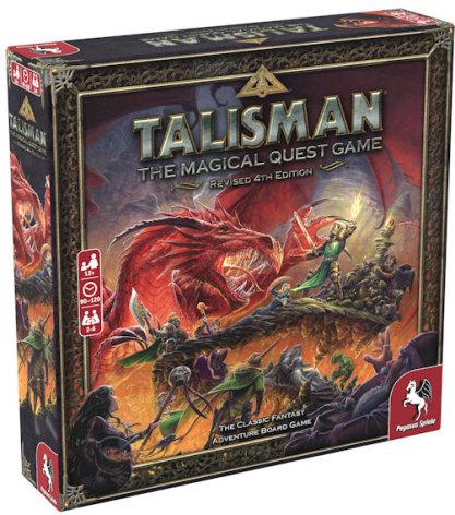 Talisman: Revised 4th Ed Core Game (Nytryck väntat i September)