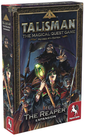 Talisman: The Reaper (Nytryck, release September)