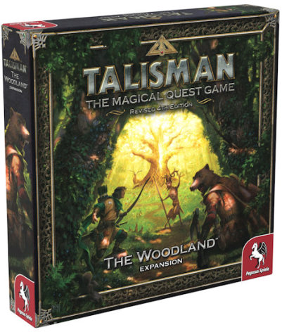 Talisman: The Woodland (Nytryck, release November)