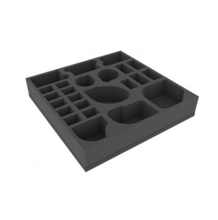AGDY055BO 295 mm x 295 mm x 55 mm foam tray for board game boxes