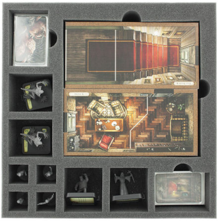 AF050VD06 50 mm tray for Mansions of Madness - tiles and Beyond the Threshold