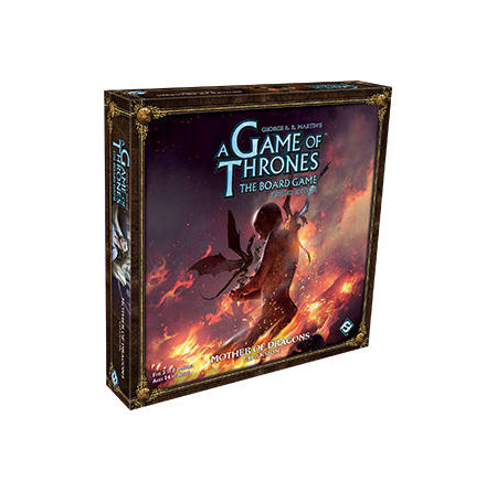 A Game of Thrones Board Game 2nd ed: Mother of Dragons