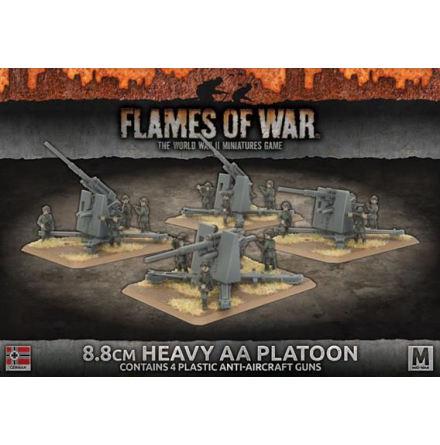 8.8cm Heavy AA Platoon (x4 Plastic)