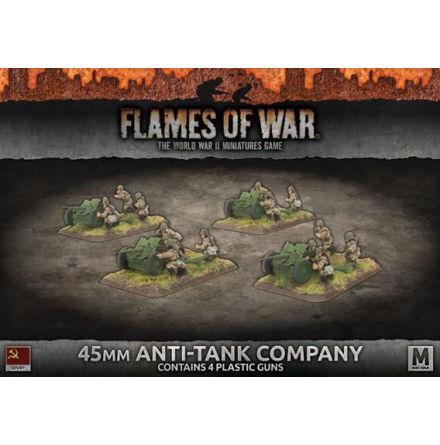 45mm Anti-Tank Company (x4 Plastic)