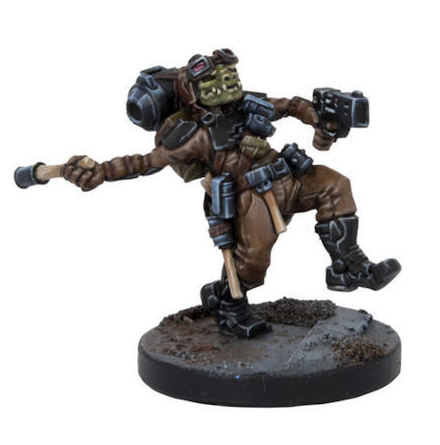 Deadzone Mercenary: Boomer, Hobgoblin Grenadier (1 Figure)