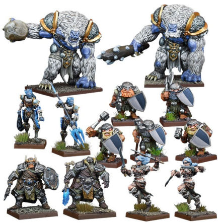 VANGUARD: Northern Alliance Warband Set