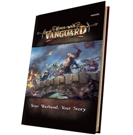 Kings of War Vanguard: Rulebook (release oktober 2018)