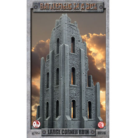 Battlefield in a Box: Large Corner Ruin