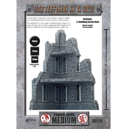 Battlefield in a Box: Medium Corner Ruins