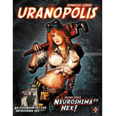 Neuroshima Hex 3.0: Uranopolis Expansion