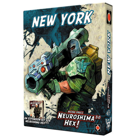 Neuroshima Hex 3.0: New York Expansion