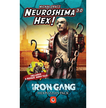 Neuroshima Hex 3.0: Iron Gang Puzzle Expansion