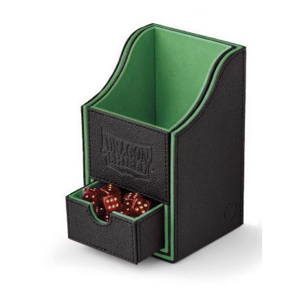 NEST BOX+: BLACK/GREEN - Dragon Shield Storage Box