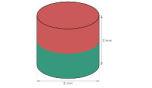 Disc Magnet diameter 2 mm, höjd 2 mm (20st) Nickelpläterad 150g styrka