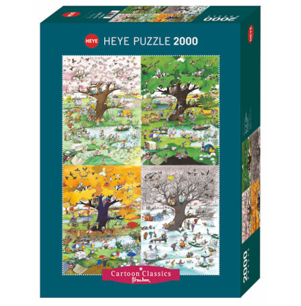 4 Seasons, Blachon (2000 pieces)