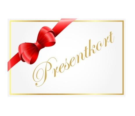 Presentkort fritt