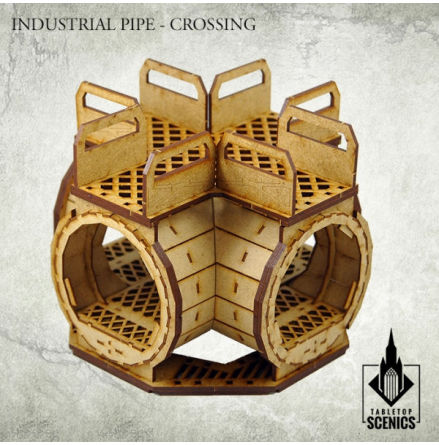 Industrial Pipe - Crossing