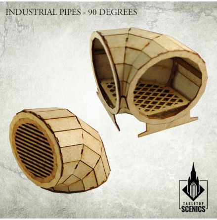 Industrial Pipes - 90 degrees