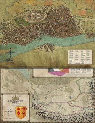 Symbaroum: Karta Yndaros & Grevskap