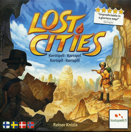Lost Cities: The Card Game (Nordic)
