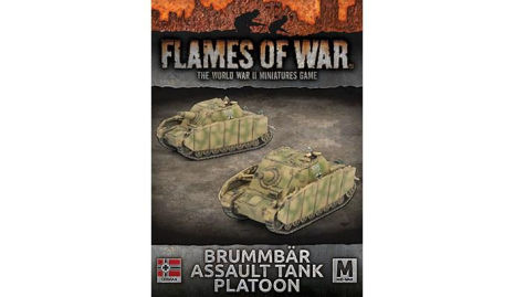 BRUMMBÄR ASSAULT TANK PLATOON (x2 tanks)