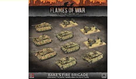 BÄKES FIRE BRIGADE (x3 Panzer IV, x4 Panzer III, x3 Nebelwerfers - plastic army