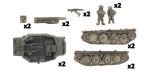 GRILLE 15cm GUN PLATOON (x2 vehicles)