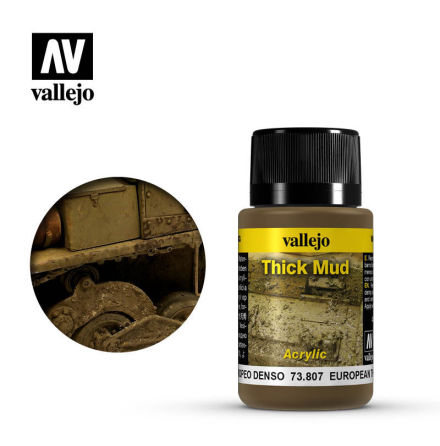 EUROPEAN THICK MUD (40 ml)
