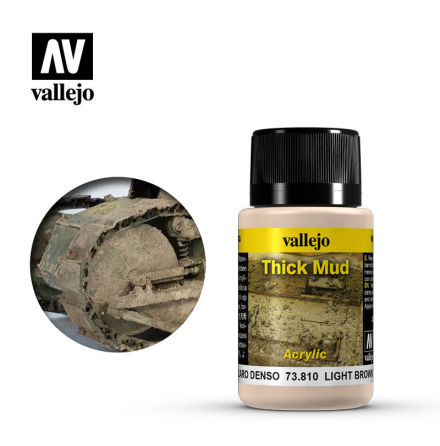 LIGHT BROWN THICK MUD (40 ml)
