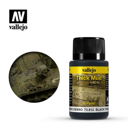 BLACK THICK MUD (40 ml)