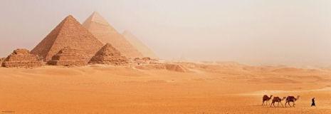 Pyramids 1000 pieces Panorama