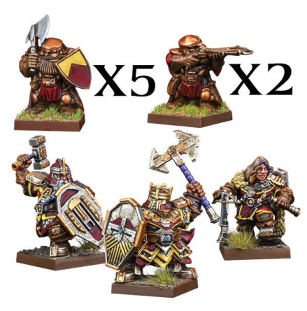 VANGUARD: Dwarf Warband Set
