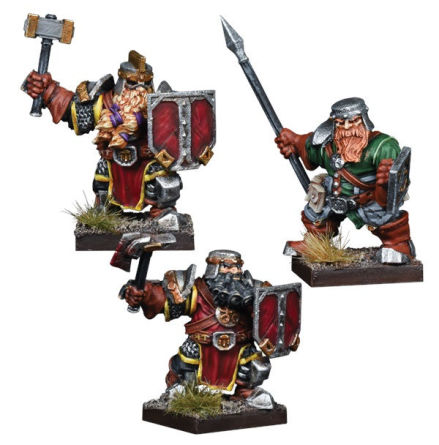 VANGUARD: Dwarf Reinforcement Pack