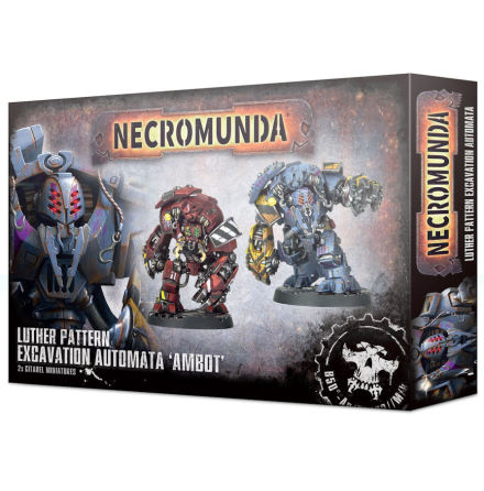 NECROMUNDA LUTHER PATTERN EXCAVATION AUTOMATA AMBOT