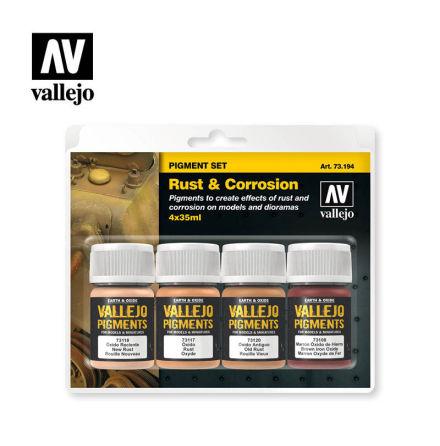 RUST & CORROSION Pigment set