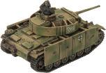 PANZER III (LATE) PLATOON (x5 plastic tanks schurzen)
