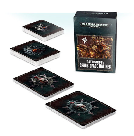 DATACARDS: CHAOS SPACE MARINES 2 (ENG, 8th ed)