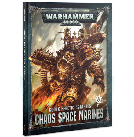 CODEX: CHAOS SPACE MARINES 2 (ENG, 8th ed)
