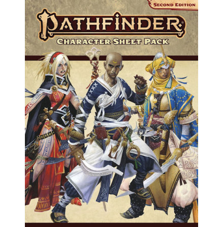 Pathfinder Character Sheet Pack P2