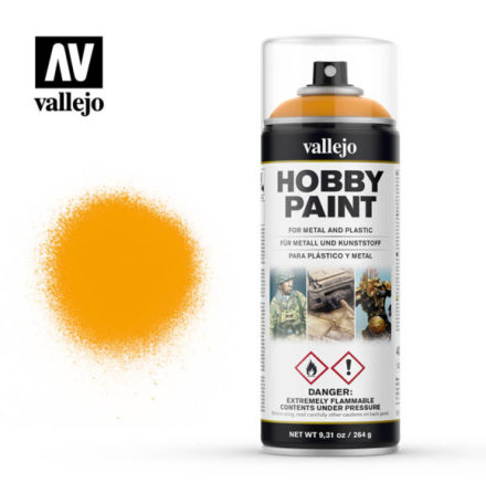 Vallejo Hobby Paint Spray: Sun Yellow (400 ml)