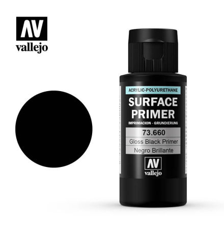 Gloss black primer 60 ml