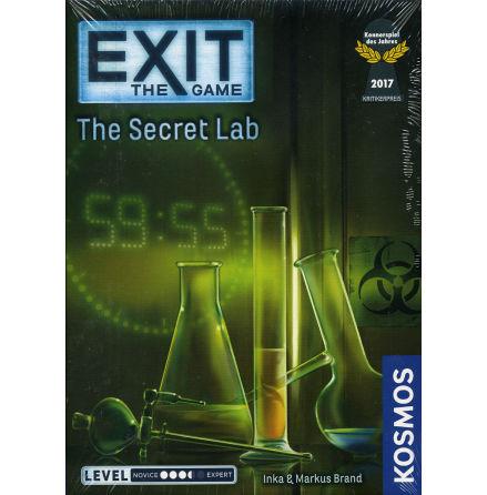 EXIT 2: The Secret Lab (Spiel des Jahres Nominerad 2017)