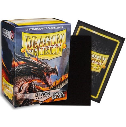 Non-Glare: Dragon Shield: BLACK, Amina (100)
