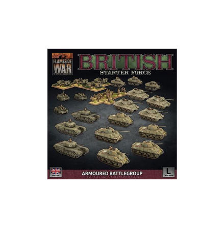 British LW Armoured Battlegroup Army Deal (Release 15:e Juni, endast förbokning)