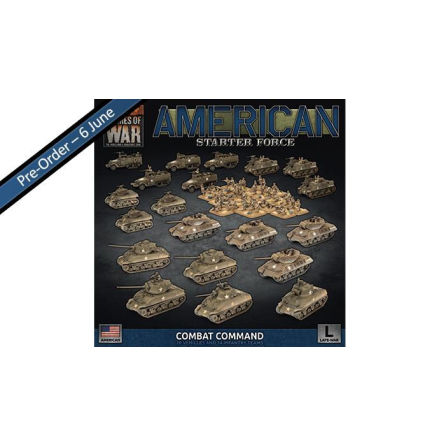 American LW Combat Command Army Deal (Release 15:e Juni, endast förbokning!)