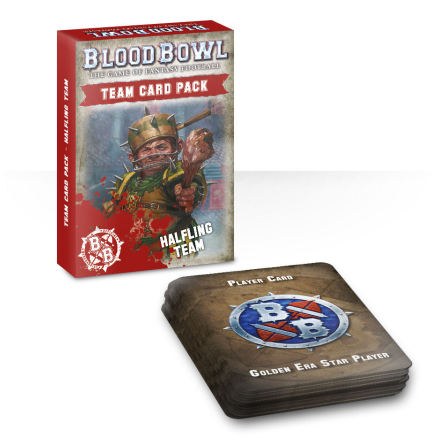 BLOOD BOWL: HALFLING TEAM CARD PACK (ENG)