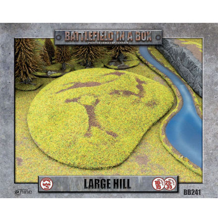 Large Hill (x1) - 15mm/30mm scale